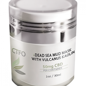 CBD Dead Sea Mud Mask with Vulcanus Kaolin – 50mg