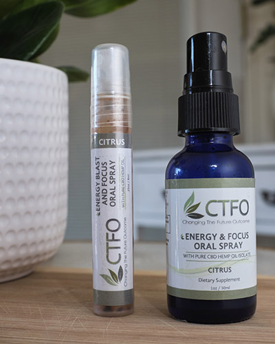 CBD Energy Blast and Focus Oral Spray - 8ml