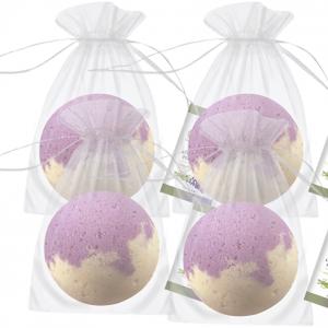 CBD Bath Bomb 4 Pack - Lavender