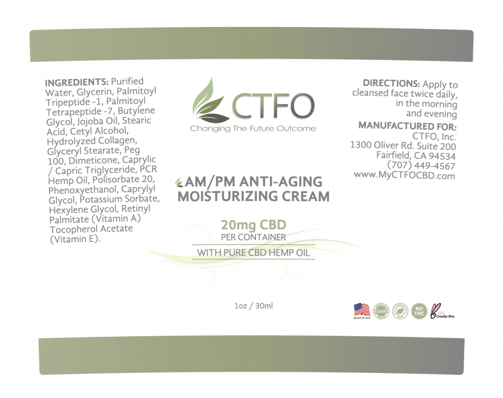 AM/PM Anti-Aging Moisturizing Cream