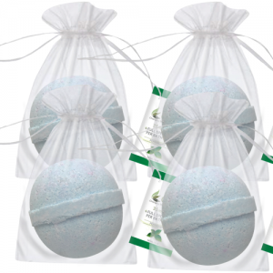 CBD Bath Bomb 4 Pack - Peppermint