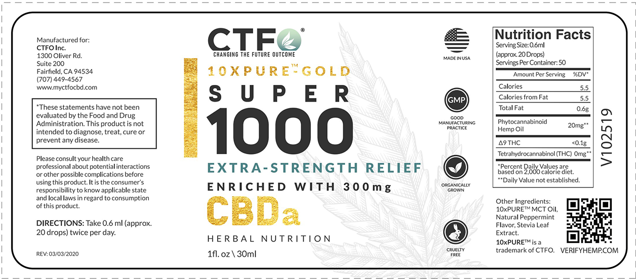 10xPURE-GOLD Super 1000