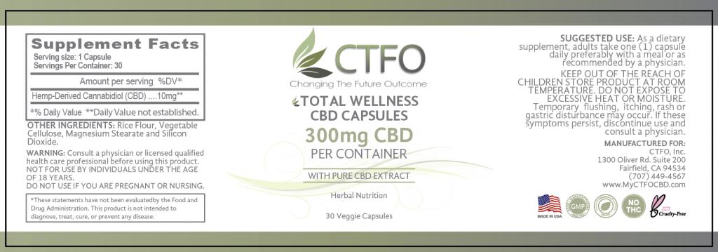 Total Wellness CBD Capsules