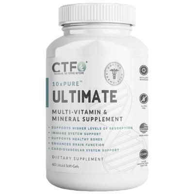 10xPURE Ultimate Multi-Vitamin & Mineral Supplement